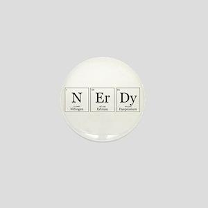NErDy [Chemical Elements] Mini Button